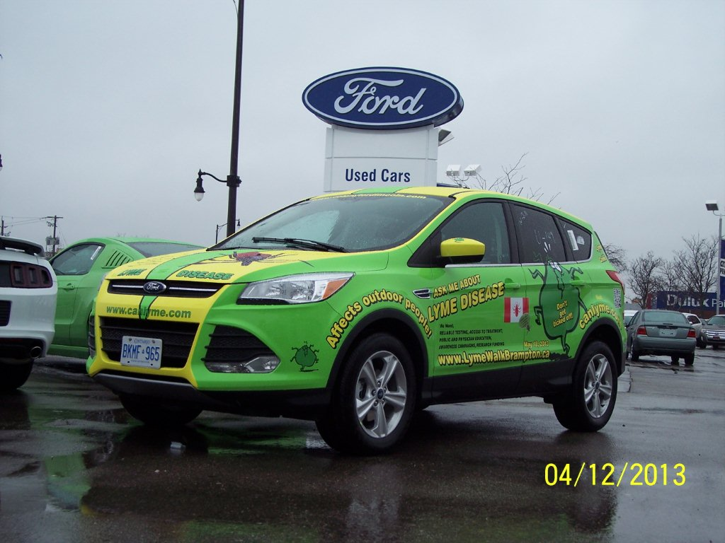 2013 LymeMobile sponsored by Colony Ford, Brampton, Ontario, Canada